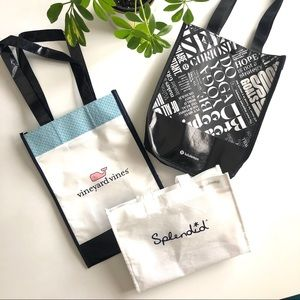 Set of 3 Shopping Totes